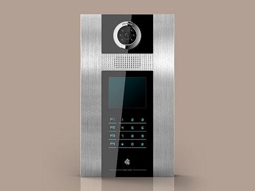 安居宝触摸式单元门口机|西安广宝电子科技有限公司